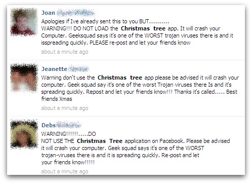 Facebook Christmas Tree Virus It S Still A Hoax Eset Ireland