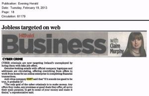 Evening Herald 19.02.2013