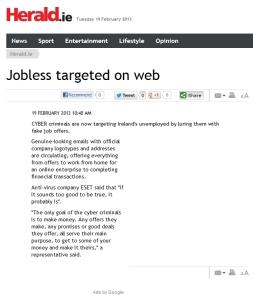 Herald.ie 19.02.2013