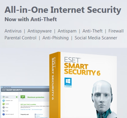ESET Smart Security Ranked Best Security Product in Stiftung