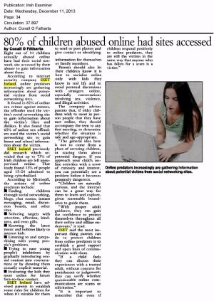 Irish Examiner 11.12.2013