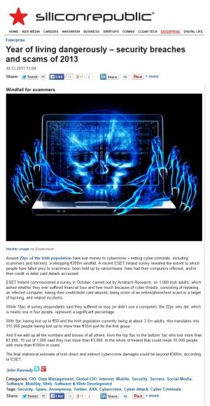 SiliconRepublic 30.12.2013