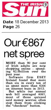 The Irish Sun 18.12.2013