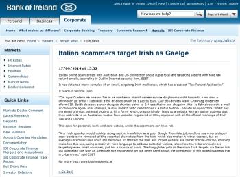 Bank of Ireland 17.09.2014