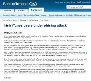 Bank of Ireland 27.01.2014