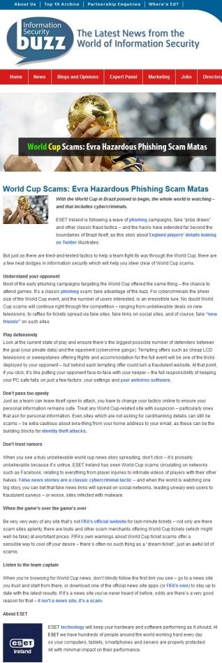 InfoSecurity Buzz 12.06.2014