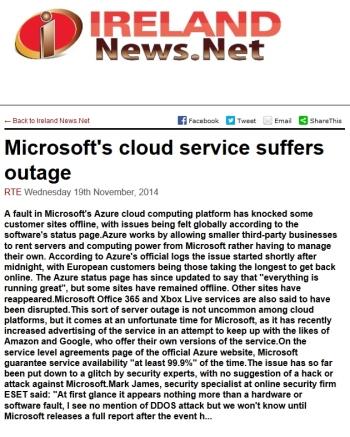 Ireland News.net 19.11.2014