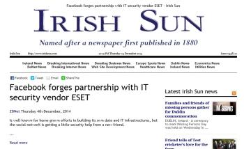 Irish Sun 04.12.2014