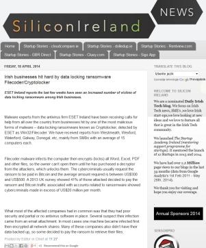 Silicon Ireland 18.04.2014