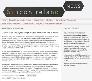SiliconIreland 17.12.2014