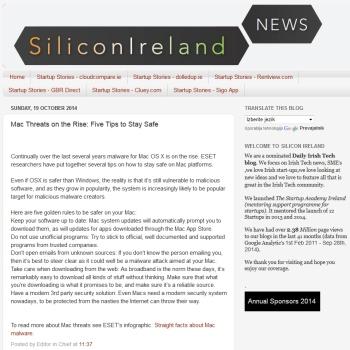 SiliconIreland 19.10.2014