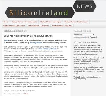 SiliconIreland 22.10.2014
