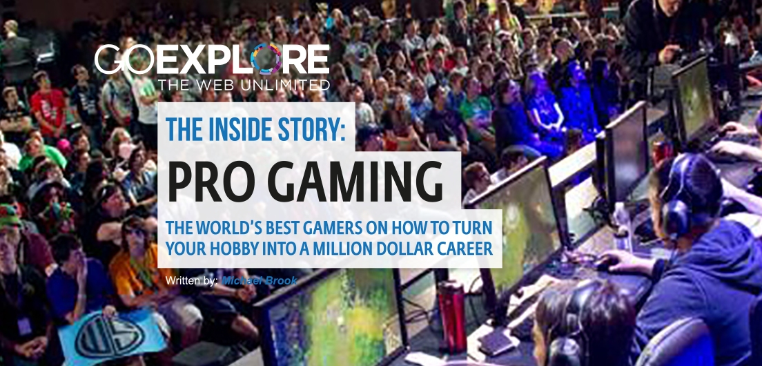 5 tips from top professional gamers: how to turn your hobby