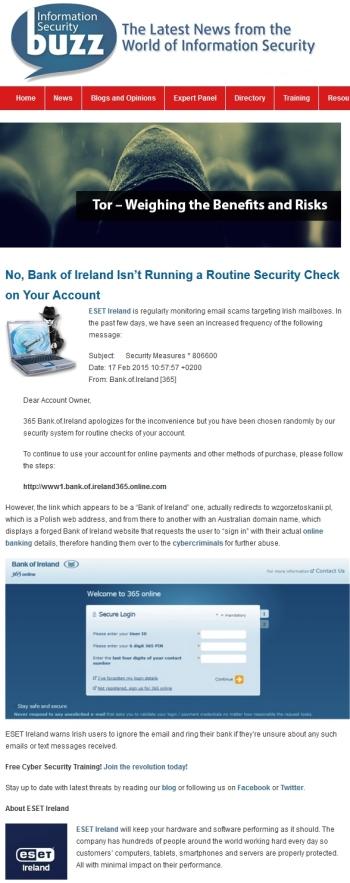 Information Security Buzz 20.02.2015