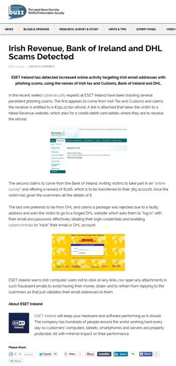 InfoSecurity Buzz 04.05.2015