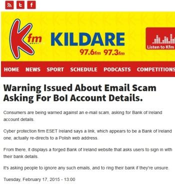 Kildare FM 17.02.2015