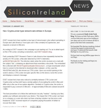 Silicon ireland news 22.01.2014