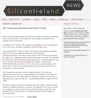 Silicon ireland news 22.01.2014
