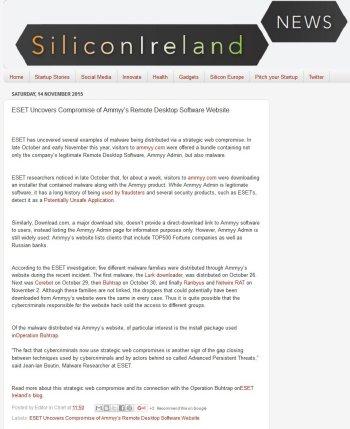 SiliconIreland 14.11.2015