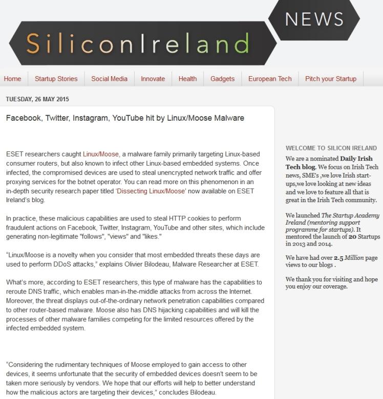 SiliconIreland 26.07.2014
