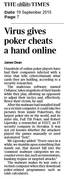 The Times NI -ROI 19.09.2015