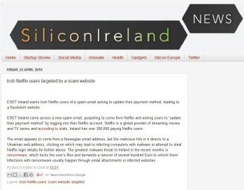 Silicon Ireland 22.04.2016