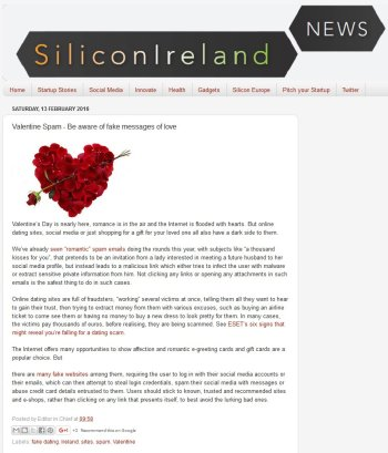 Silicon Ireland news 13.02.2016
