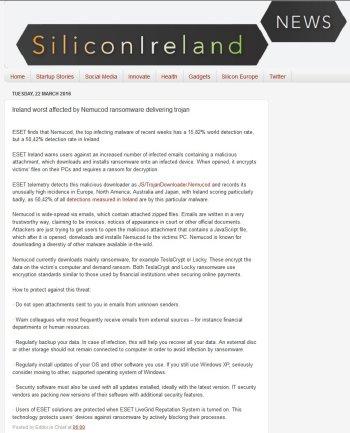SiliconIreland 22.03.2016
