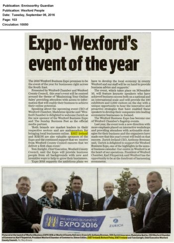 Wexford People, Enniscorthy Guardian 06.09.2016
