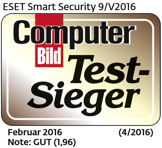 ESET Wins Internet Security Test by Computer Bild, Europe's