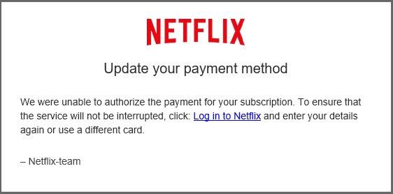 Netflixscam