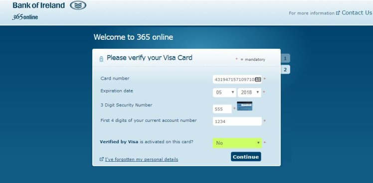 Banking 365 Number
