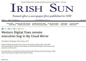 Irish Sun 25.01.2017