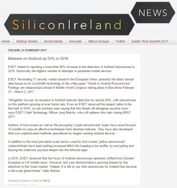 SiliconIreland News 21.02.2017