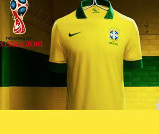 43b12b3fc ... Jersey for World Cup Russia 2018 ... ... circulated through WhatsApp  aimed at users in Brazil claiming that Nike will give